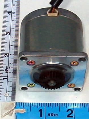 motor:103G771-0240_IBM-6115543 Step-Syn / Sanyo Denki Stepping motor with gear