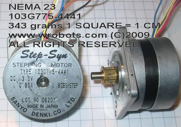motor:103G775-4441 Sanyo Denki