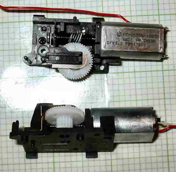 motor:243-WORM-HD  CD-ROM Head movement Mechanism