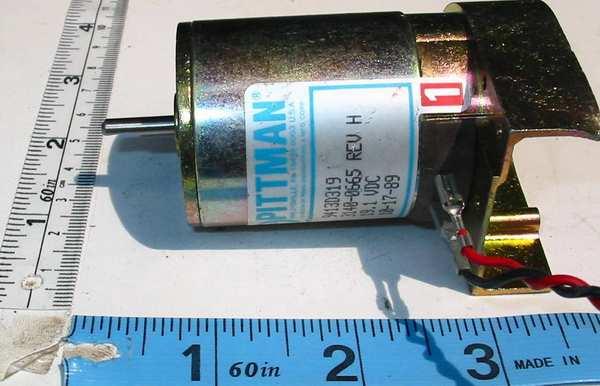 motor:9413D319_3140-0665 Pittman DC servo 7 poles