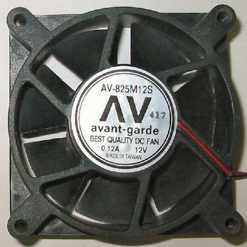 ventilation:AV-825M12S Avant Garde 80mm axial cooling