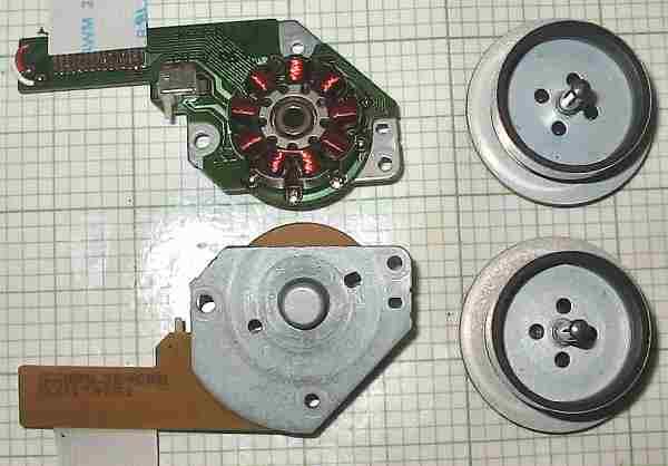 motor:BML3E4CRB  CD Rom brushless motor