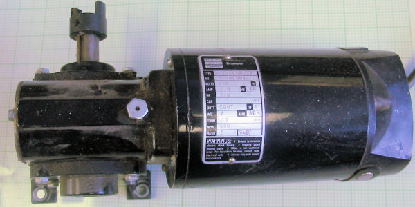 32d58epm 5f Motor Dc Geared Bodine Electric Company