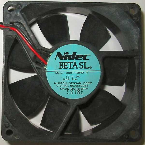 ventilation:DO87-12PM Nidec Beta SL 80mm axial cooling