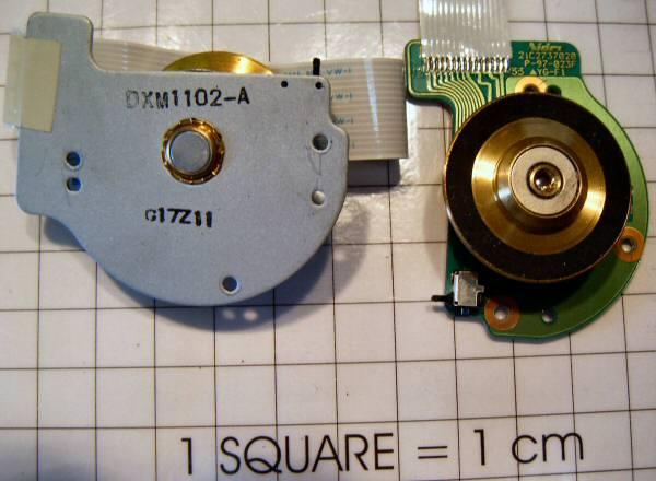 Dxm1102 A Nidec 21c2737020 Motor Brushless Cd Rom Nidec