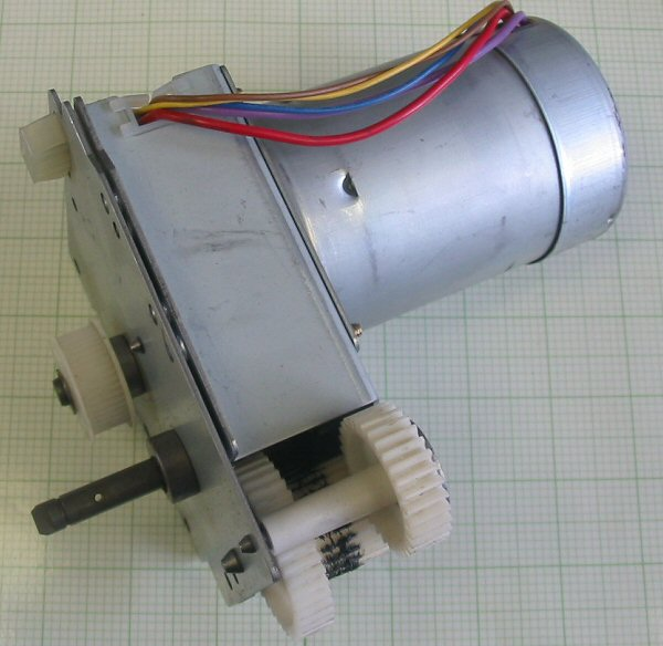 motor:PVX-24C4LA Matsushita electric industrial co Servo motor with encoder and gearbox