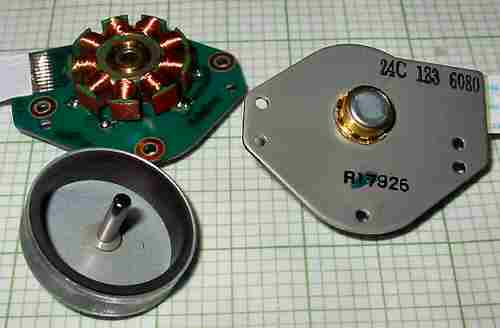 Nidec 24c 183 6080 Motor Cd Rom Brushless Nidec Nidec Cd