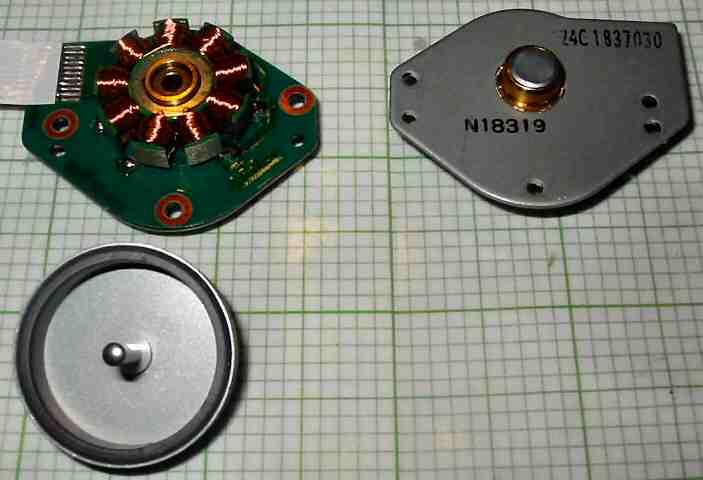 Nidec 24c 183 7030 Motor Cd Rom Brushless Nidec Nidec Cd