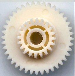 Gears:coumpound-gear-40-20-dp50--h150  Plastic compound gear