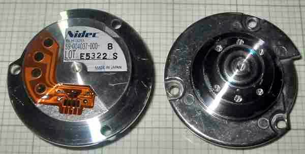 Nidec 59 004037 000 B Motor Hard Disk Brushless Nidec Hard