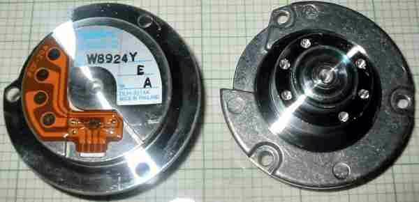 Nidec 59 004053 000 Motor Hard Disk Brushless Nidec Hard Disk Brushless Motor