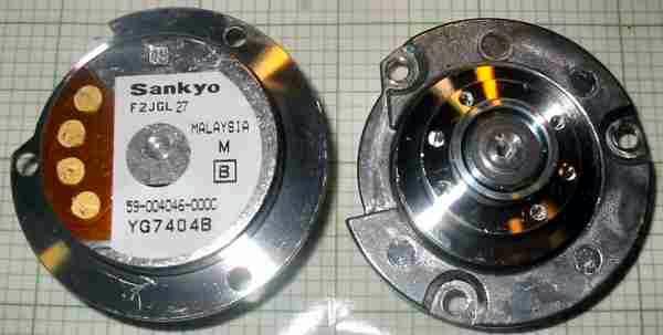 motor:59-004046-000c -000 -000b Sankyo Nidec Hard disk brushless spindle motor